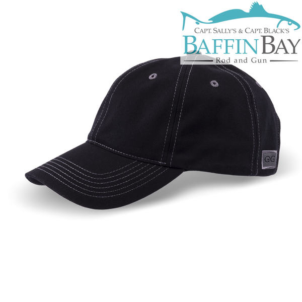 BBRG Logo Cap Caviar / Normal / Uni-Color Baffin Bay Rod And Gun Free Shipping