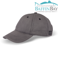 BBRG Logo Cap GunMetal / Normal / Uni-Color Baffin Bay Rod And Gun Free Shipping