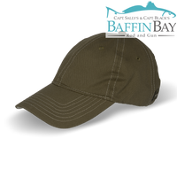 BBRG Logo Cap Olive / Unstructured / Uni-Color Baffin Bay Rod And Gun Free Shipping