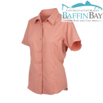Ladies' MicroFiber Shirt Salmon / S Baffin Bay Rod And Gun Free Shipping