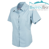 Ladies' MicroFiber Shirt Sky Blue / S Baffin Bay Rod And Gun Free Shipping