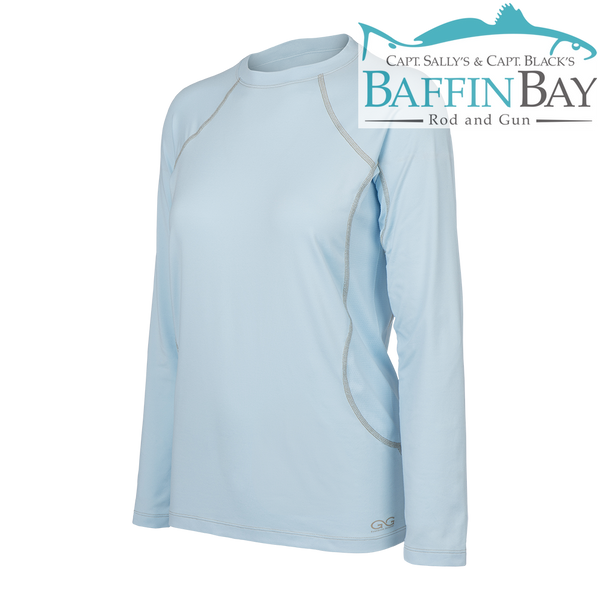 Ladies' Performance Tee Sky Blue / S Baffin Bay Rod And Gun Free Shipping
