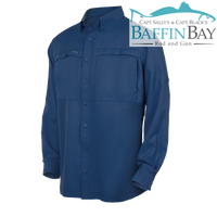 Men's MicroFiber Long Sleeves Deep Water / S Baffin Bay Rod And Gun Free Shipping