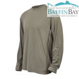 Men's Performance Tee Mesquite / L / Long Sleeves Baffin Bay Rod And Gun Free Shipping