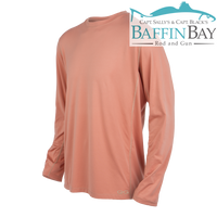 Men's Performance Tee Salmon / L / Long Sleeves Baffin Bay Rod And Gun Free Shipping