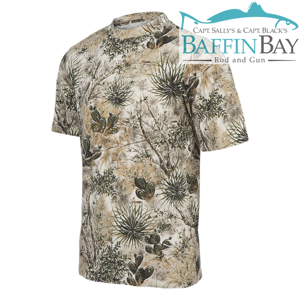 Short Sleeves Cotton Tree XL Baffin Bay Rod And Gun Free Shipping