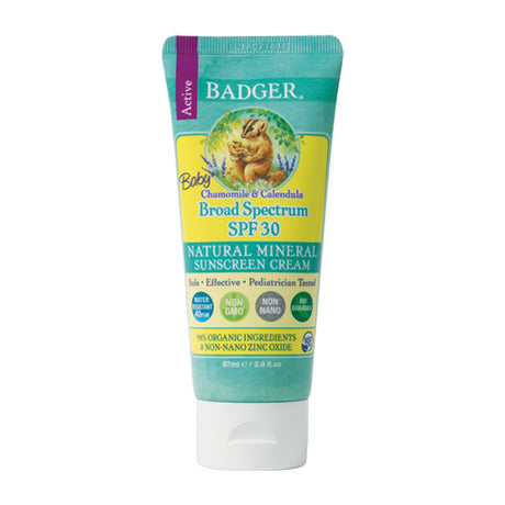Badger Chamomile & Calendula SPF 30 Sunscreen