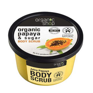 Organic Shop Juicy Papaya Body Scrub