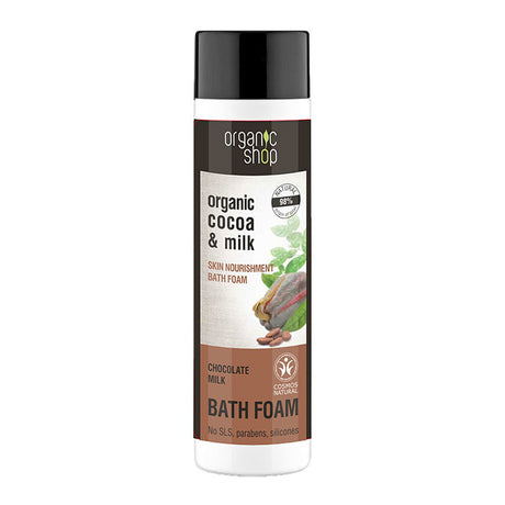 Organic Shop Chocolate Milk Bath Foam