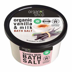 Organic Shop Vanilla Milk Bath Salts