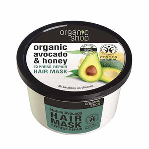 Organic Shop Honey and Avocado Repair Hair Mask