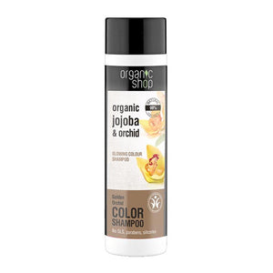 Organic Shop Golden Orchid Colour Protection Shampoo