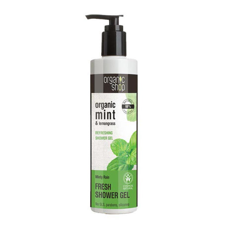 Organic Shop Minty Rain Refreshing Shower Gel