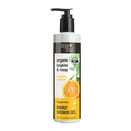 Organic Shop Tangerine Storm Energising Shower Gel