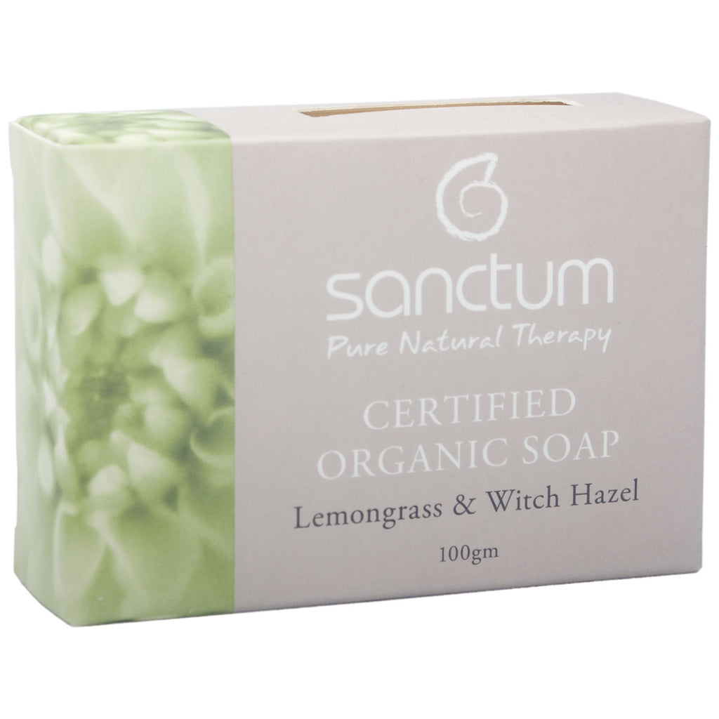 Sanctum Lemongrass & Witch Hazel Soap