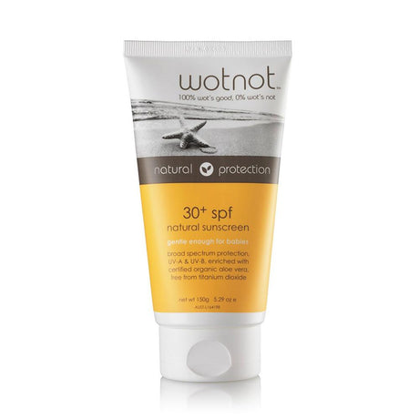Wotnot SPF30 Natural Sunscreen