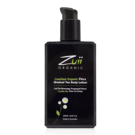Zuii Certified Organic Flora Gradual Tan Body Lotion