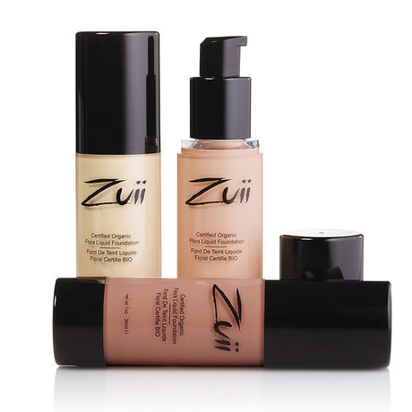 Zuii Certified Organic Flora Liquid Foundation Samples