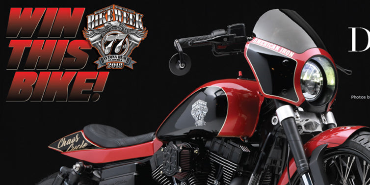 Win The Official 2018 Daytona Bike Week Motorcycle