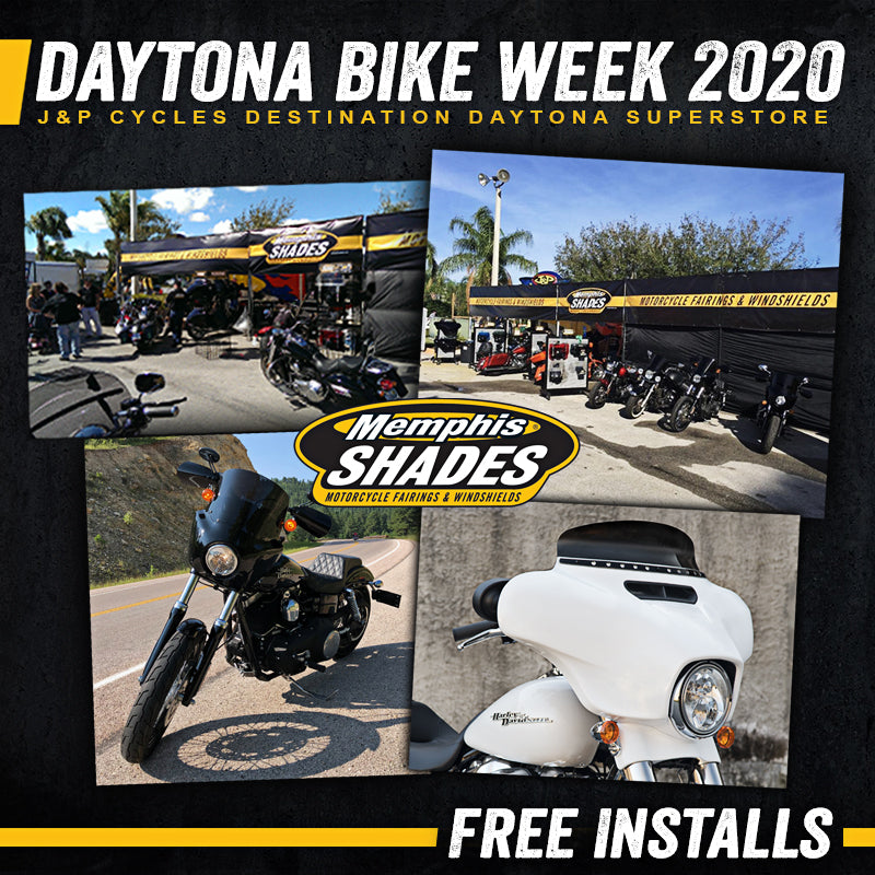 Memphis Shades at the 79th Daytona Bike Week 2020