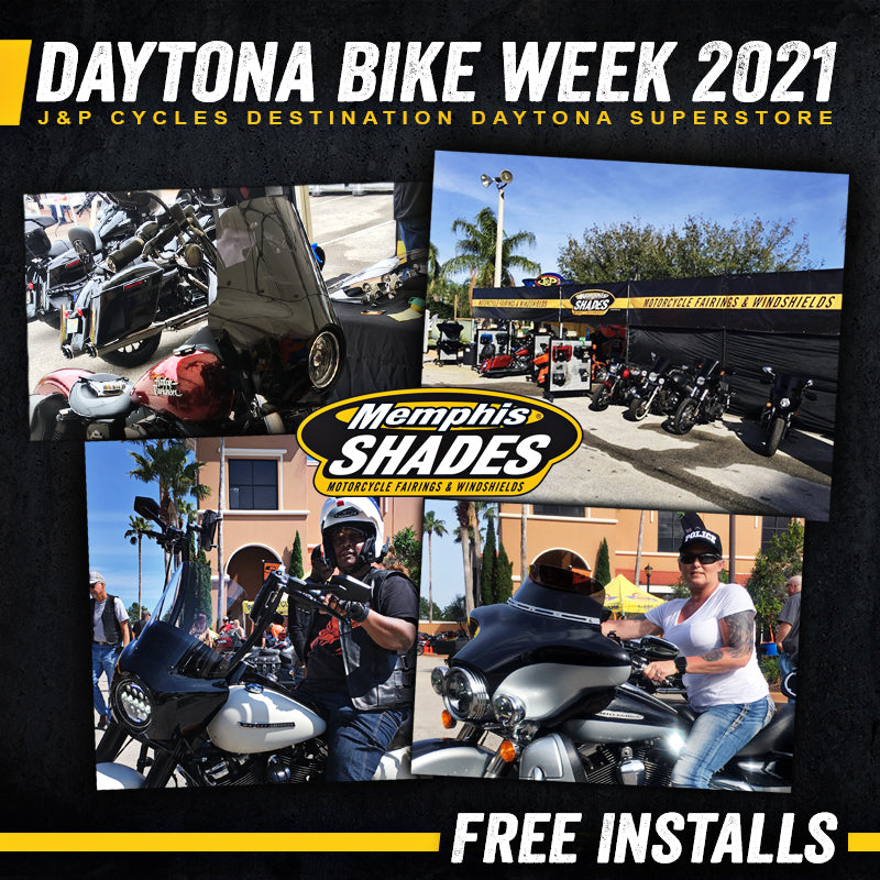 Memphis Shades at Daytona Bike Week 2021