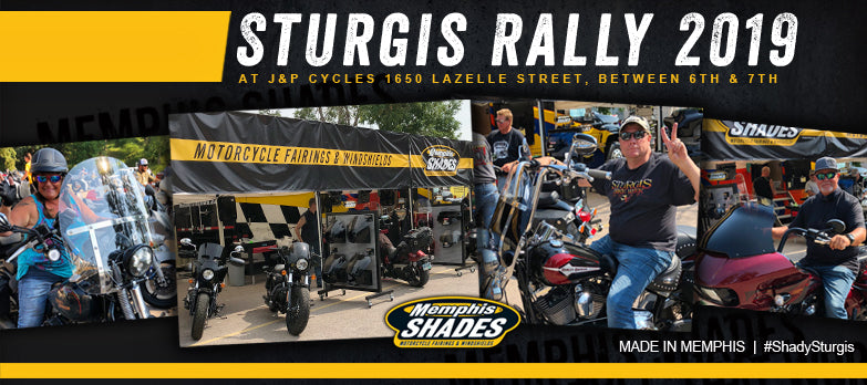 Memphis Shades at the 79th Sturgis Motorcycle Rally