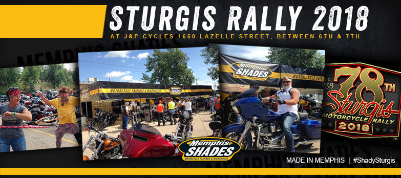 Memphis Shades Install Sturgis Rally 2018