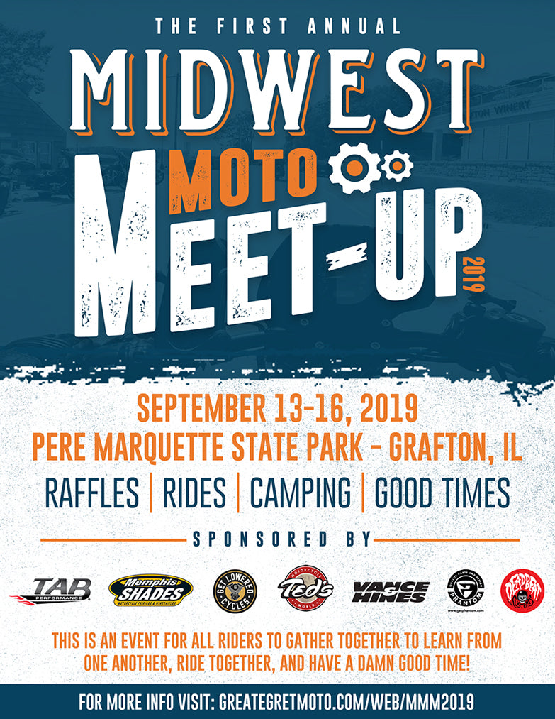 Community Event: Midwest Moto Meet-Up - September 13 - 16, 2019