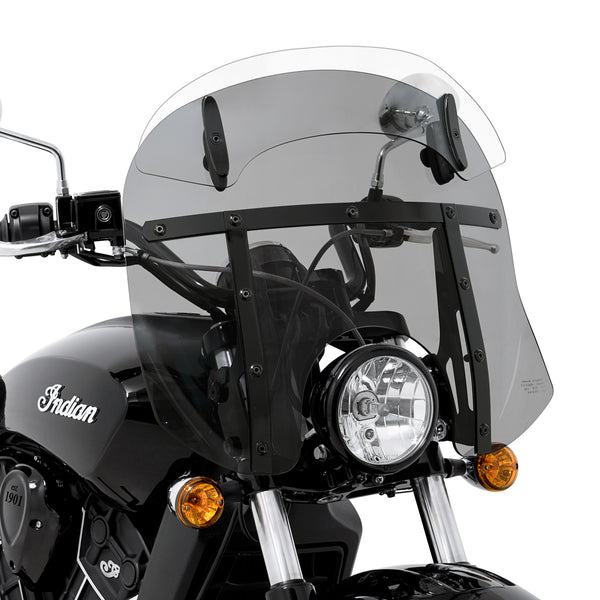Drop-Top Memphis Fats Windshield for 2015 - 2018 Indian Scout and Scout-Sixty