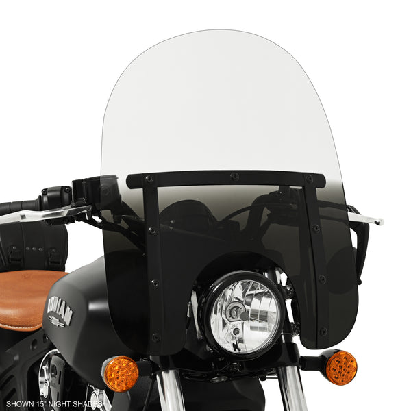 "15"" Memphis Slim Night Shades on Scout Bobber"
