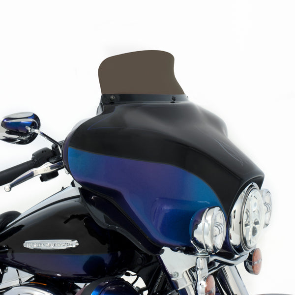 "5"" - Smoke - Spoiler Windshield for HD FLH Fairings"