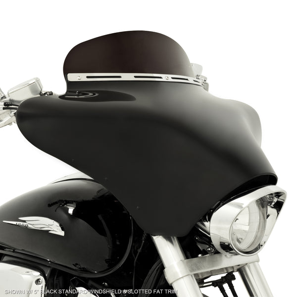 Batwing Fairing on Honda VTX1800 (Exposed Forks)