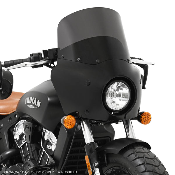 Road Warrior Fairing on 2018 Indian Motorcycle Scout Bobber