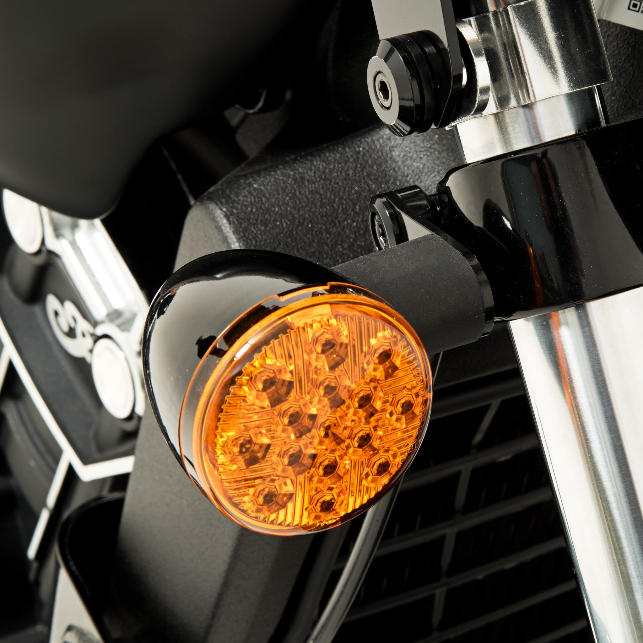 Turn Signal Relocation for Indian Scout Bobber