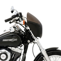 Cafe Fairing side profile on '12 FXDC Super Glide Custom