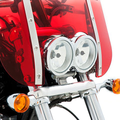 Dual Headlight Cutout windshield for FXDF Fat Bob