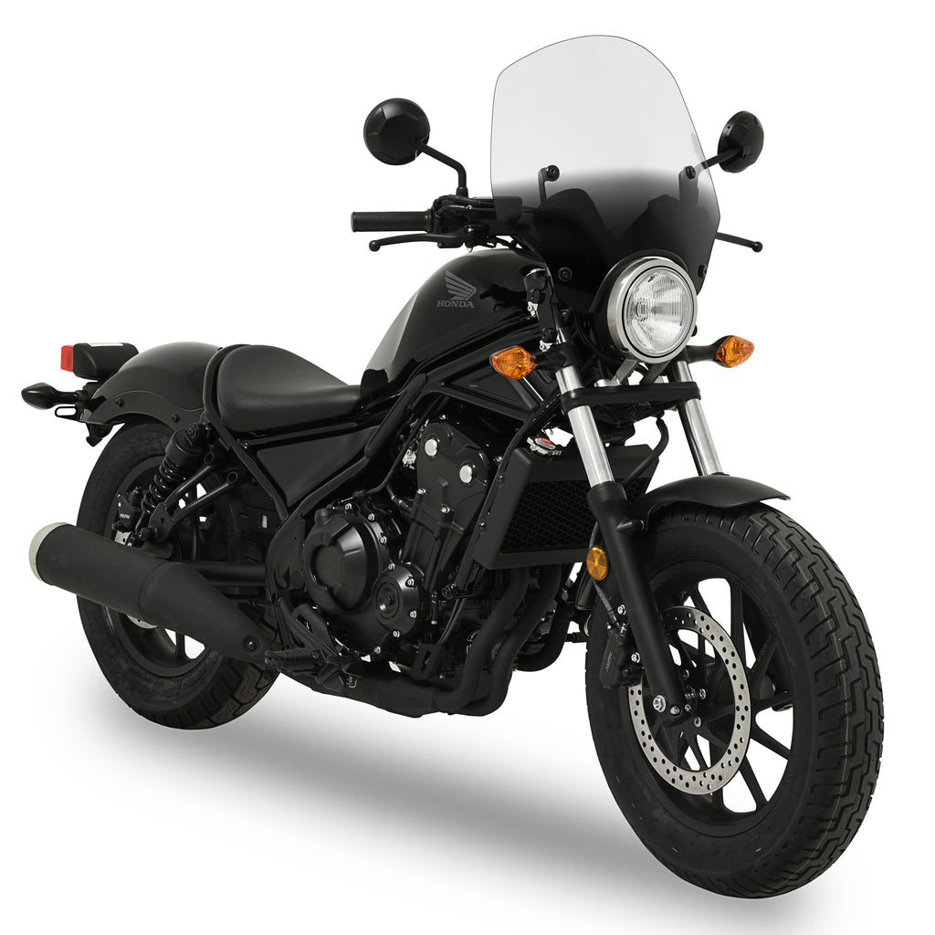 el paso sportshield windshield honda rebel 300 and rebel. Black Bedroom Furniture Sets. Home Design Ideas