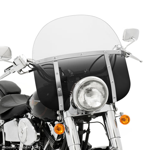 Memphis Shades MEP6366 Blue Windshield Replacement Plastic For Harley-Davidson 19 Replacement Shield Heritage//Fatboy