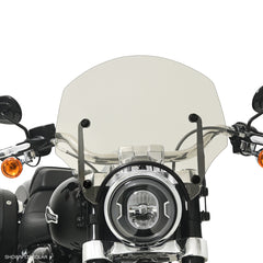 Solar El Paso Sportshield Windshield on a HD FLSB Sport Glide