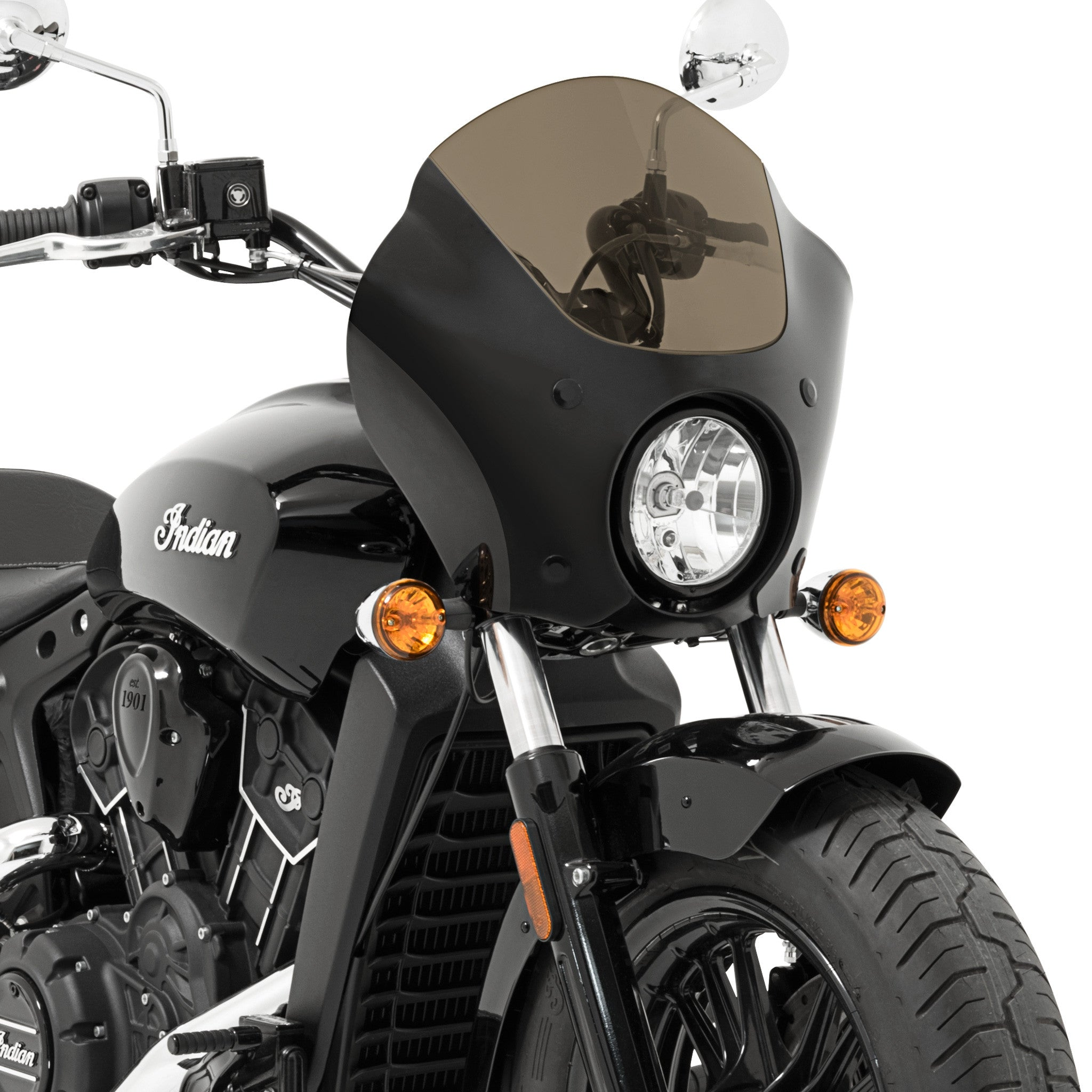 Gauntlet Fairing for 2015 - 2018 Indian Scout and Scout-Sixty