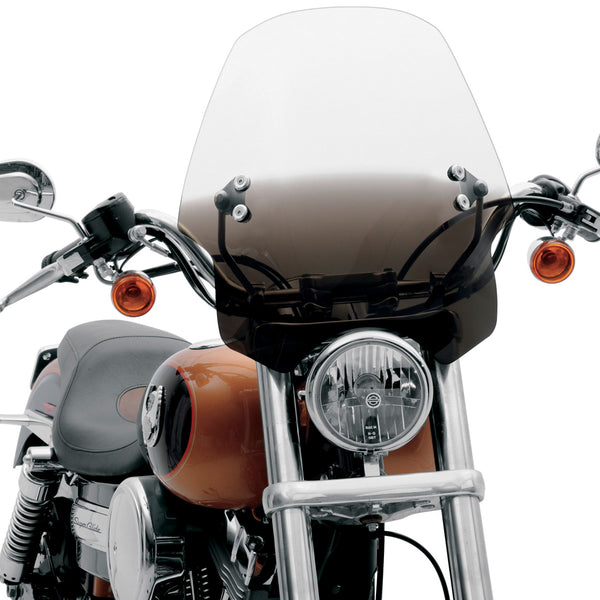 Harley Street 500 >> Hell Cat Universal Handlebar Mount Motorcycle Windshield