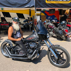 Road Warrior Fairing on a 2006 Rocker - Sturgis 2018