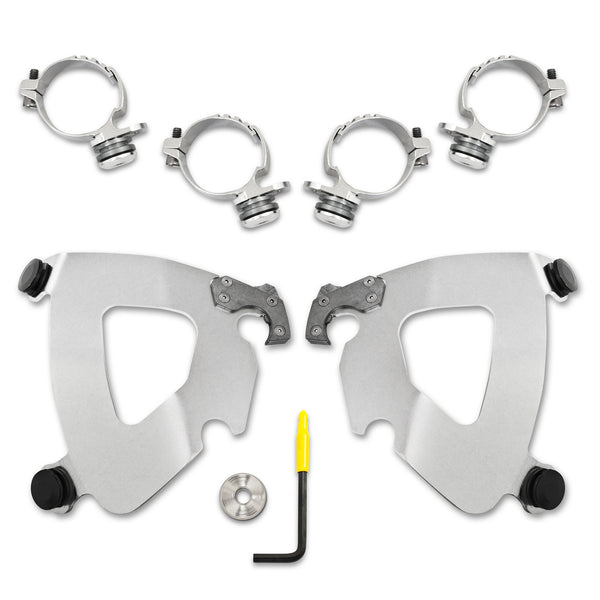 Trigger-Lock Mount Kit - Polished - MEK2014