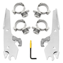 Trigger-Lock Mount Kit - Polished - MEK2027