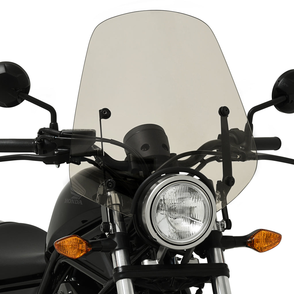 Pop Top Sportshield Windshield Honda Rebel 300 and Rebel ...