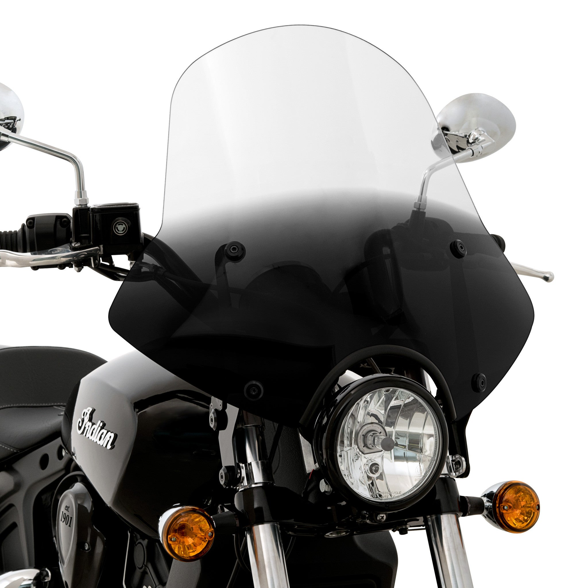 Speed Demon Sportshield Windshield on a Scout-Sixty