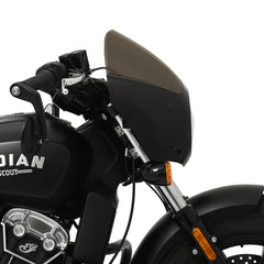 Side Profile of a Cafe Fairing on a Scout Bobber