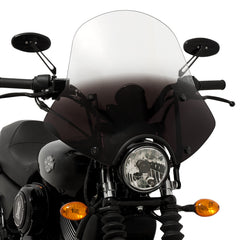 Street 750 with a Speed Demon Sportshield windshield