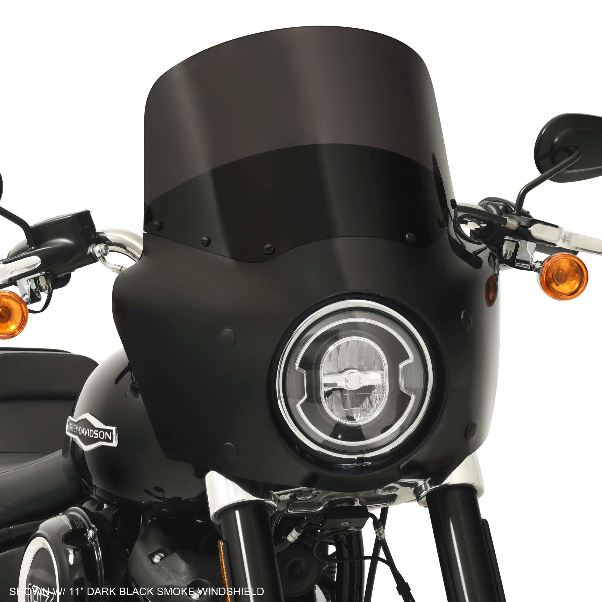 Road Warrior fairing on a 2018 Harley-Davidson FLSB Sport Glide