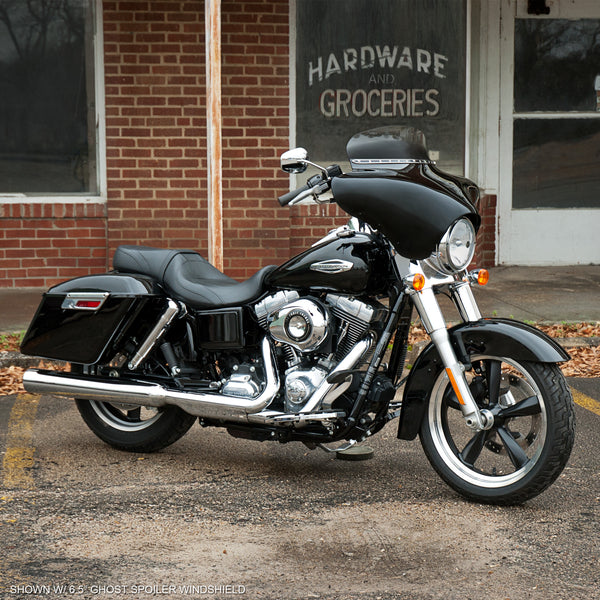 Batwing Fairing on 2014 Harley FLD Dyna Switchback